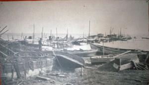 Arbejdet på havnen